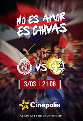La pasión del clásico de clásicos: Chivas vs América en Cinépolis