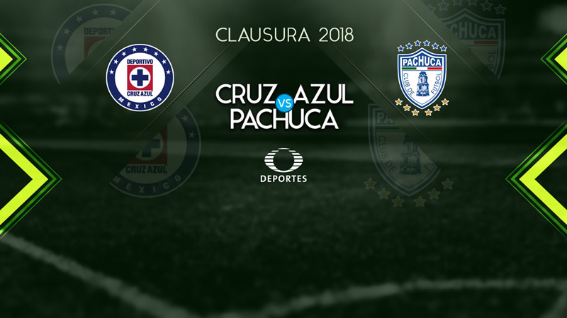 Cruz Azul vs Pachuca, Jornada 11 del C2018 ¡En vivo por internet! - cruz-azul-vs-pachuca-televisa-deportes-c2018