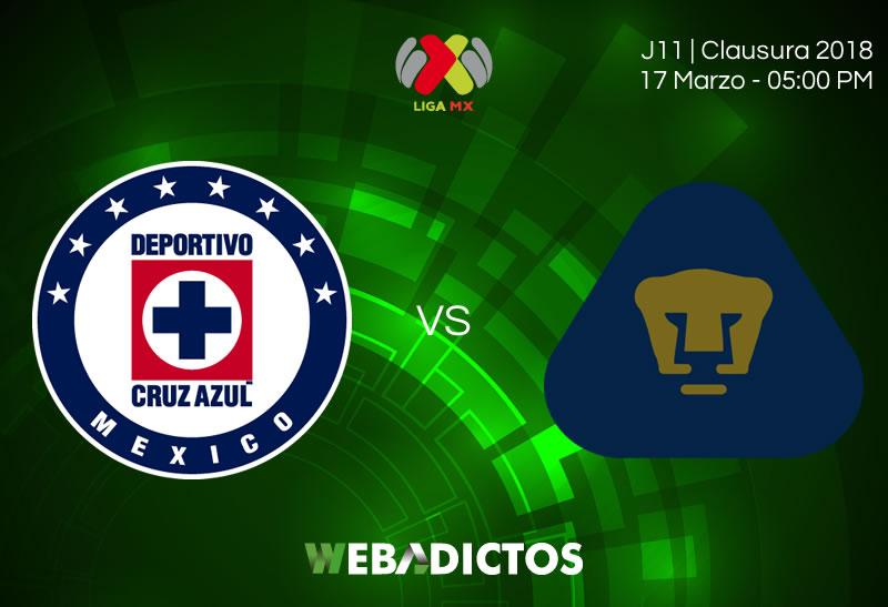 Cruz Azul vs Pumas: Conoce cómo ver el partido en la J12 del C2018 - cruz-azul-vs-pumas-clausura-2018-jornada-12