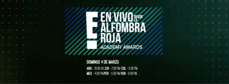 Programación EN VIVO de los premios Oscar 2018 por E!