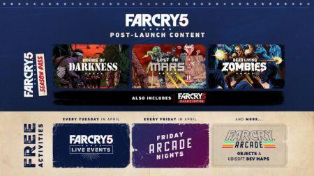 Ubisoft anuncia detalles del post-lanzamiento de Far Cry 5