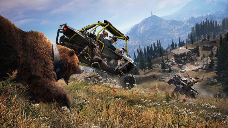 Ubisoft anuncia que Far Cry 5 ¡Ya disponible! - far-cry-5_ubisoft-1-800x450