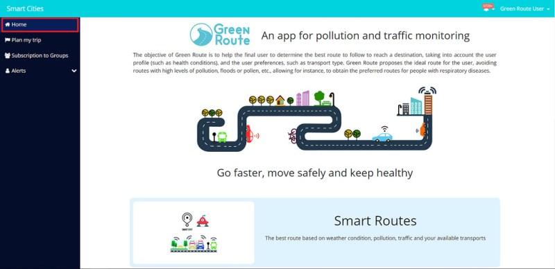 Crean app de rutas verdes para ciudades - green-route-800x388