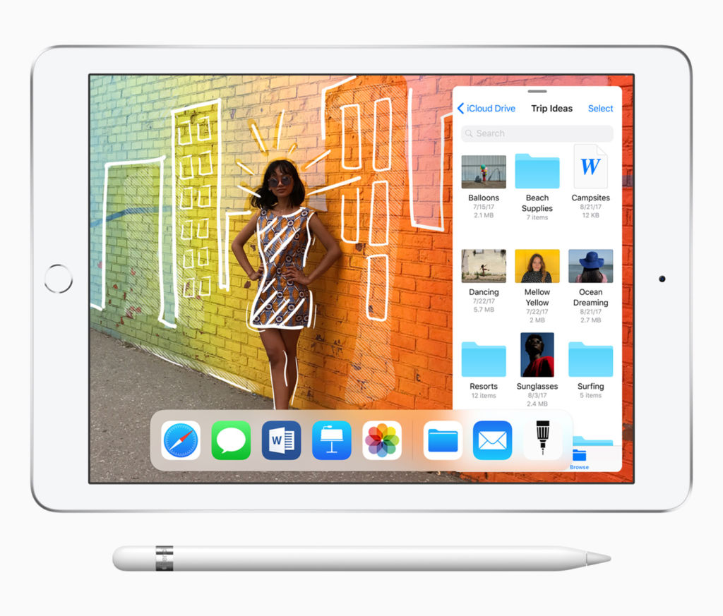 Apple renueva al iPad de 9.7 pulgadas: soporte para Apple Pencil y mejor procesador que la generación anterior - ipad_9_7_pencil