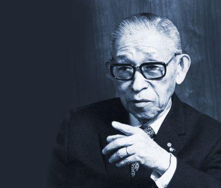 konosuke matsushita 450x384 Panasonic conmemora su centenario con la inauguración de museo en honor a su fundador