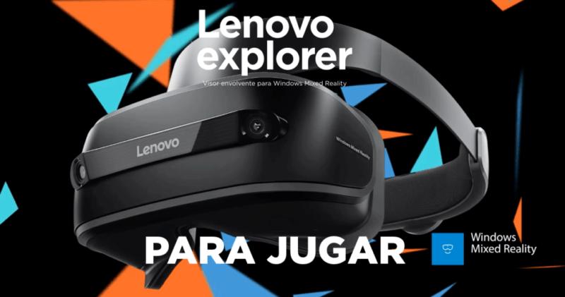 lenovo explorer 800x421 Visor Lenovo Explorer, la nueva experiencia de realidad mixta llega a México