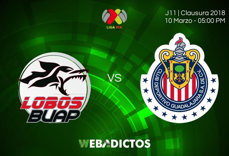lobos buap vs chivas clausura 2018 j11 Lobos BUAP vs Chivas, J11 del Clausura 2018 ¡Por internet!