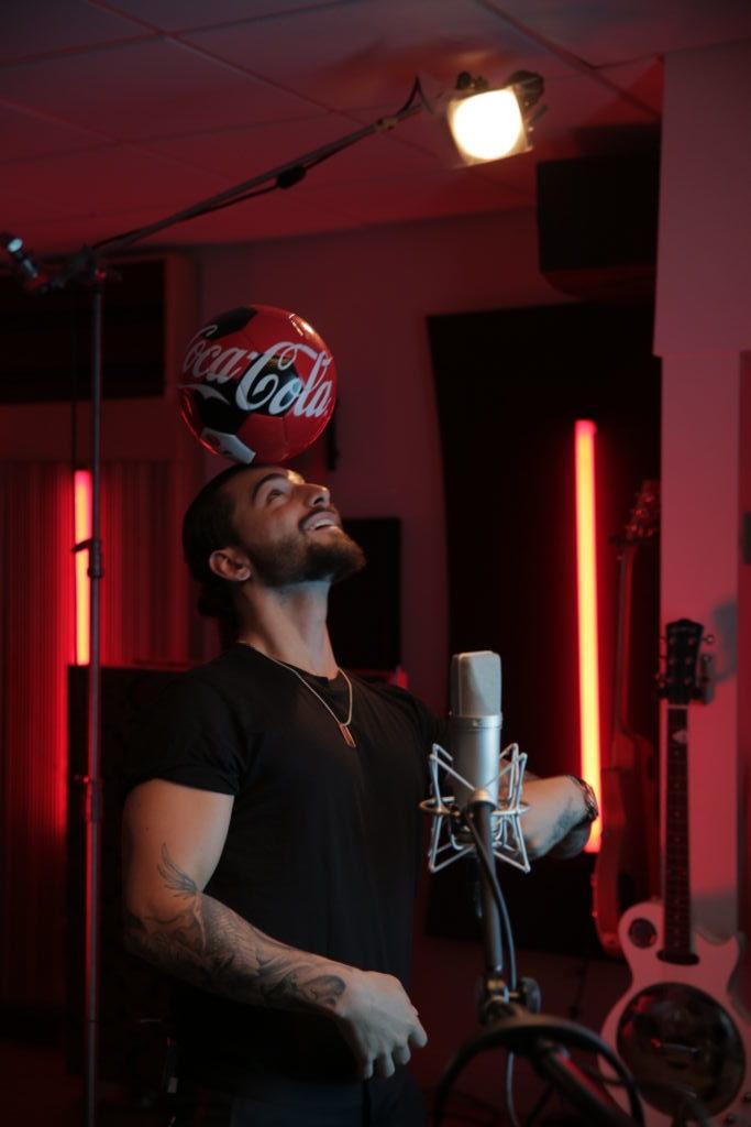 El himno del mundial Rusia 2018 es presentado por Maluma y Coca-Cola - maluma-coca-cola-e1521248635575