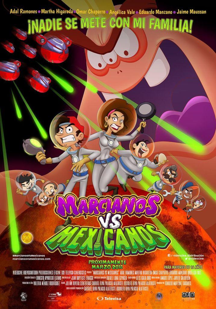 Estreno de Marcianos vs Mexicanos en México - marcianos-vs-mexicanos-poster