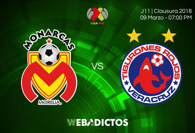 morelia vs veracruz clausura 2018 j11 Morelia vs Veracruz, J11 del Clausura 2018 ¡En vivo por internet!