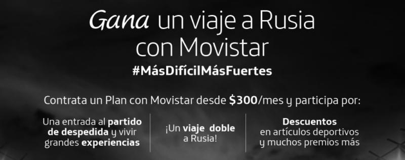 Gana un viaje a Rusia con Movistar ¡Vive la gran fiesta del futbol! - movistar-te-lleva-a-rusia_1-800x316