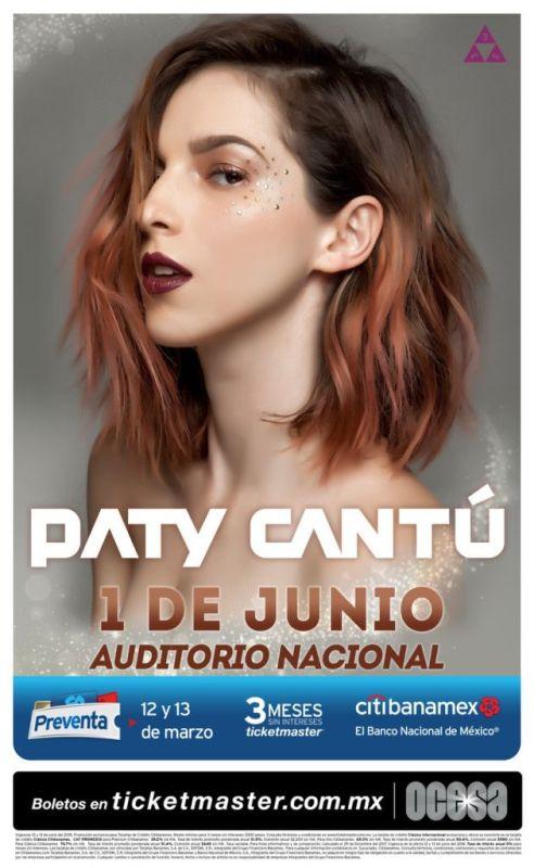 Paty Cantú en el Auditorio Nacional el 1 de Junio - paty-cantu-en-el-auditorio-nacional-492x800