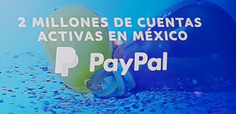 paypal llega a los dos millones de cuentas activas en mexico 800x388 PayPal llega a los dos millones de cuentas activas en México