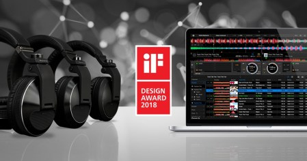 Pioneer DJ galardonado en los iF Design Awards 2018