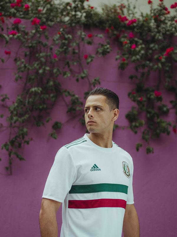 Playera de visitante de México para Rusia 2018 es revelada por adidas - playera-visita-mexico-3