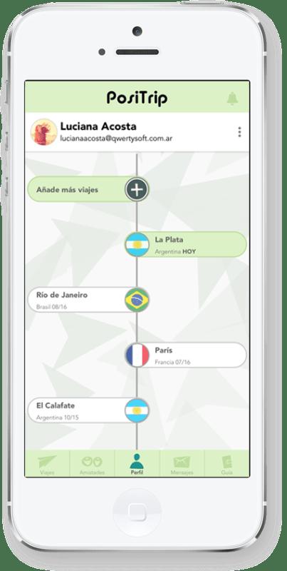 positrip 3 403x800 La app donde sólo puedes dejar comentarios positivos de tus viajes