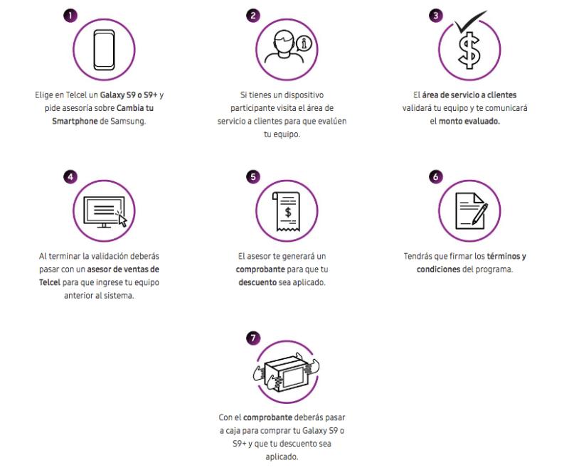 """Con el programa """"Cambia tu Smartphone'', podrás adquirir Galaxy S9 y S9+ en México - programa-cambia-tu-smartphone_1-800x661"""