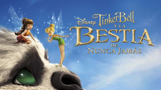 tinker bell y la bestia de nunca jamas Estrenos para niños en Netflix durante abril 2018 ¡Para disfrutar en vacaciones!