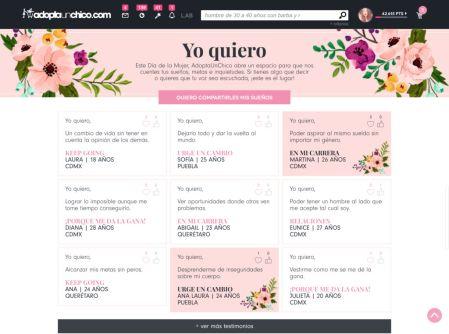 Yo Quiero, una campaña para que las mexicanas alcen la voz