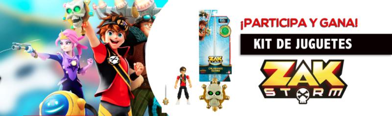 [TRIVIA] Participa para ganar un kit de la nueva línea de juguetes de Zak Storm - 21zak-storm