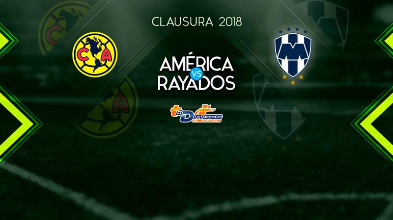 América vs Monterrey, Jornada 15 Clausura 2018 ¡En vivo por internet! - america-vs-monterrey-televisa-deportes-clausura-2018