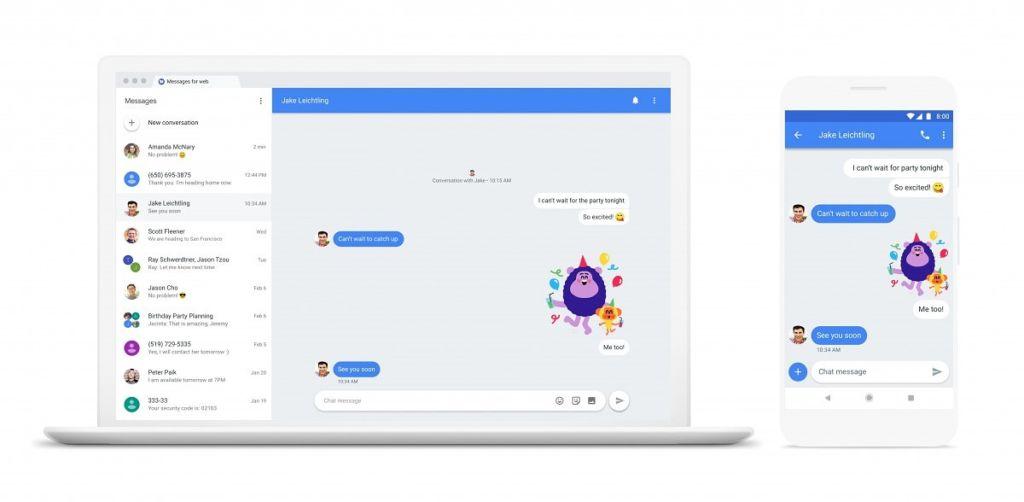 android messages for web Chat será la nueva apuesta de Google para competir contra las aplicaciones de mensajería instantánea