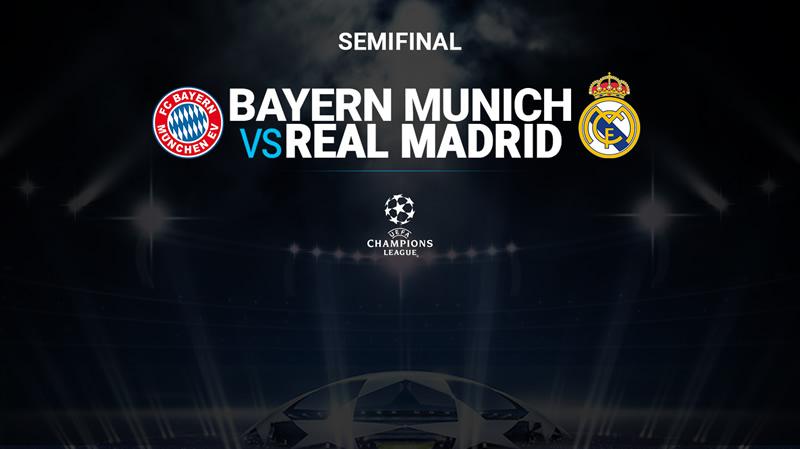 bayern vs rea madrid televisa deportes 2018 Bayern Munich vs Real Madrid, Semifinal Champions 2018 ¡En vivo por internet! | IDA