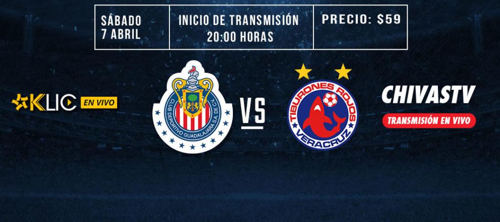 Chivas vs Veracruz en la J14 del Clausura 2018 ¡En vivo por internet! - chivas-vs-veracruz-chivas-tv-cinepolis-klic-c2018