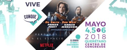 Netflix en CONQUE 2018 ¡con sorpresas y activaciones especiales!