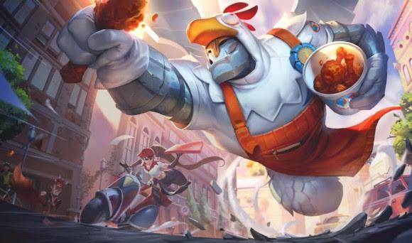 ¡Guerra de Comida! Mira todo lo que trae el nuevo evento de League of Legends - evento-de-league-of-legends