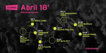 Eventos en abril ¡Que no te puedes perder!
