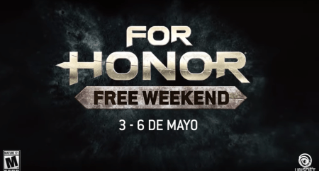 Juega For Honor ¡fin de semana gratis!