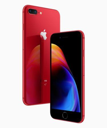 Los iPhone 8 y 8 Plus se visten de rojo en su nueva edición (PRODUCT) RED - iphone8-iphone8plus-product-red_front-back_041018