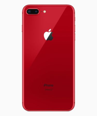 Los iPhone 8 y 8 Plus se visten de rojo en su nueva edición (PRODUCT) RED