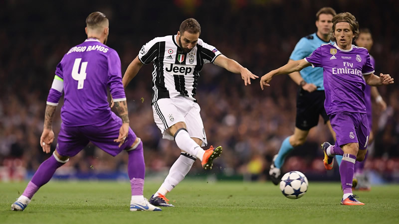 Juventus vs Real Madrid, Cuartos de Champions 2018 | Resultado: 0-3 - juventus-vs-real-madrid-champions-league