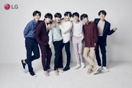 LG anuncia alianza con la banda de K-Pop más populares del momento:BTS