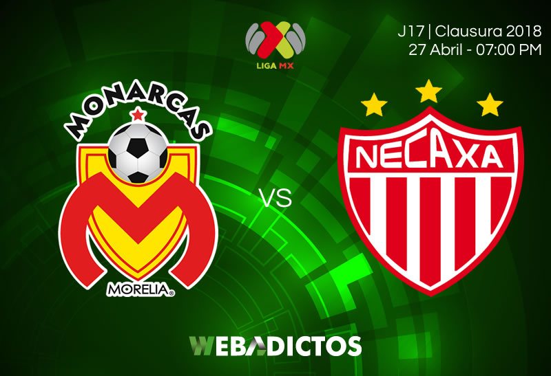 Morelia vs Necaxa, Jornada 17 del C2018 ¡En vivo por internet! - morelia-vs-necaxa-clausura-2018