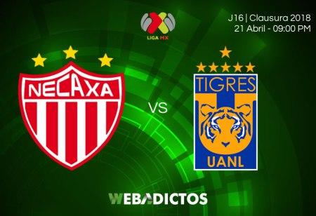 Necaxa vs Tigres, J16 del Clausura 2018 ¡En vivo por internet!