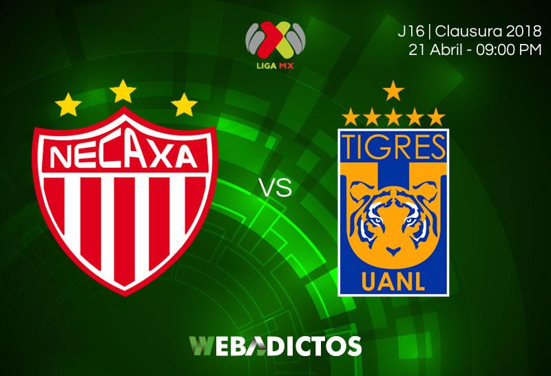 Necaxa vs Tigres, J16 del Clausura 2018 ¡En vivo por internet! - necaxa-vs-tigres-clausura-2018