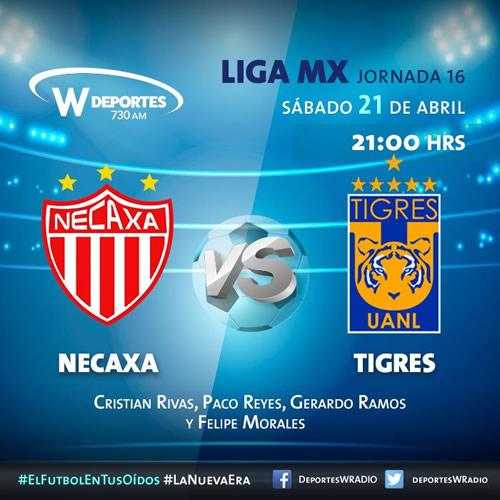Necaxa vs Tigres, J16 del Clausura 2018 ¡En vivo por internet! - necaxa-vs-tigres-por-radio-clausura-2018