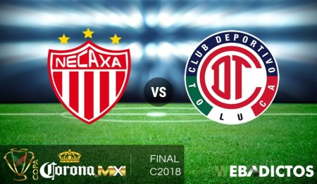 Necaxa vs Toluca, Final de Copa MX C2018 ¡En vivo por internet!