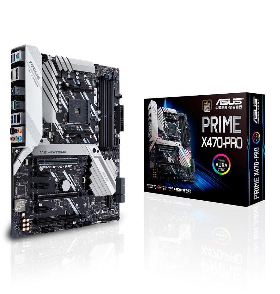 ASUS lanza sus tarjetas madres para AMD X470 - prime-x470-pro