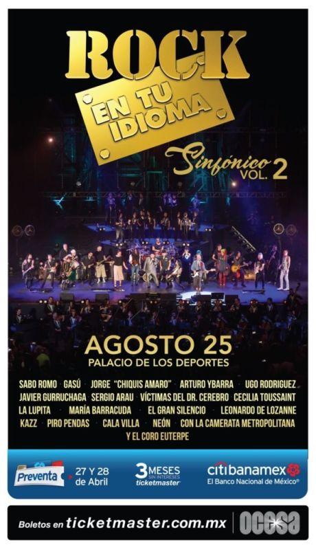 Rock en tu idioma vol 2 en el Palacio de los Deportes CDMX - rock-en-tu-idioma-vol2-460x800