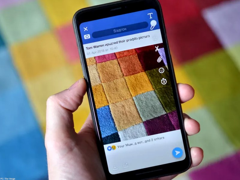 """Snapchat se burla de Facebook y lanza un filtro """"ruso"""" - tv-snap-fb-filter-1"""