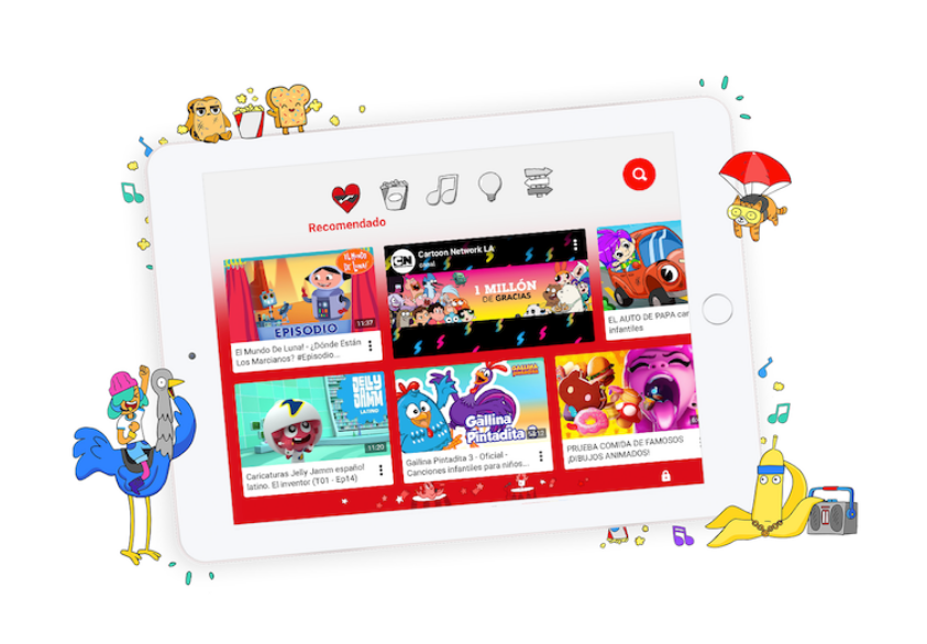 YouTube kids, niños responsables en Internet - youtube-kids