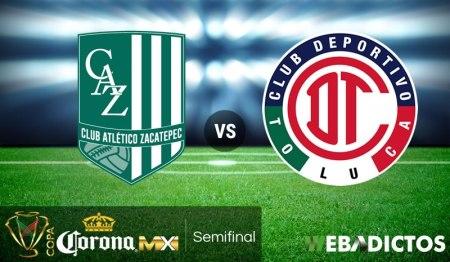 Zacatepec vs Toluca, Semifinal de Copa MX C2018 ¡En vivo por internet!