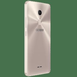 Alcatel presenta en México nuevas series de smartphones: Alcatel 3C, 3X y 5 - alcatel_3c_3g_metallic-gold