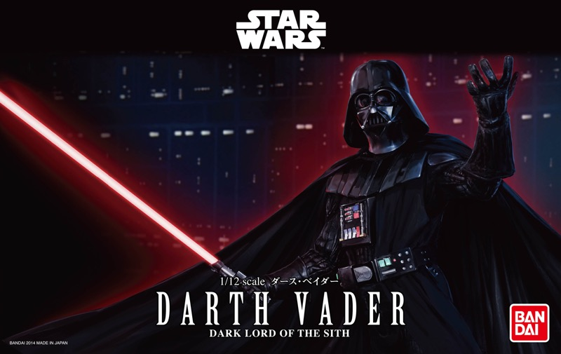 darth vader star wars the force awakens Bandai Hobby de Star Wars, nueva línea de juguetes para armar ¡llega a México!