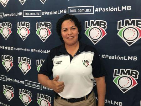 Luz Alicia Gordoa hace historia: Primera mujer umpire en el Béisbol Mexicano