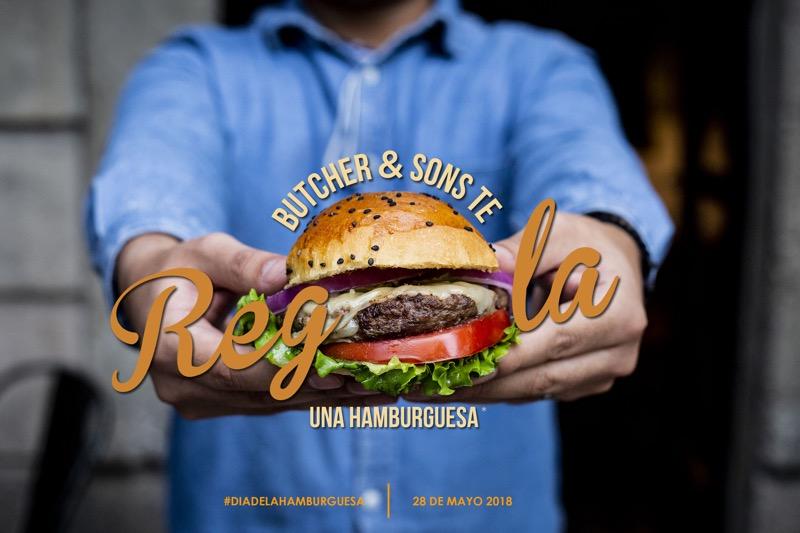 ¡El Día de la Hamburguesa, Butcher & Sons te regala una! - dia-de-la-hamburguesa-regala2-800x533
